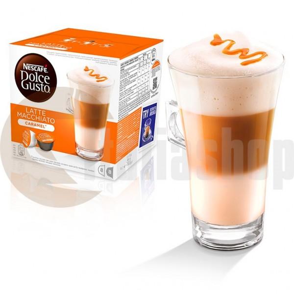 Dolce Gusto Caramel Latte Macchiato - 2x8 Τεμ. Κάψουλες