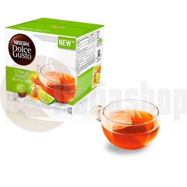 Dolce Gusto Citrus Honey Μαύρο ΤσάιΚάψουλες - 16 Τεμ.