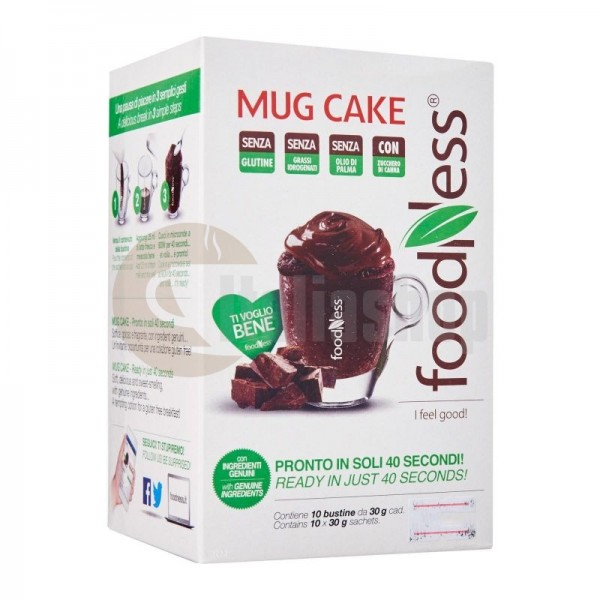 Foodness Κεϊκ Σοκολάτας σε Κούπας - 300 gr